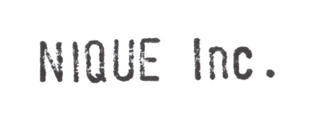 NIQUE Inc.